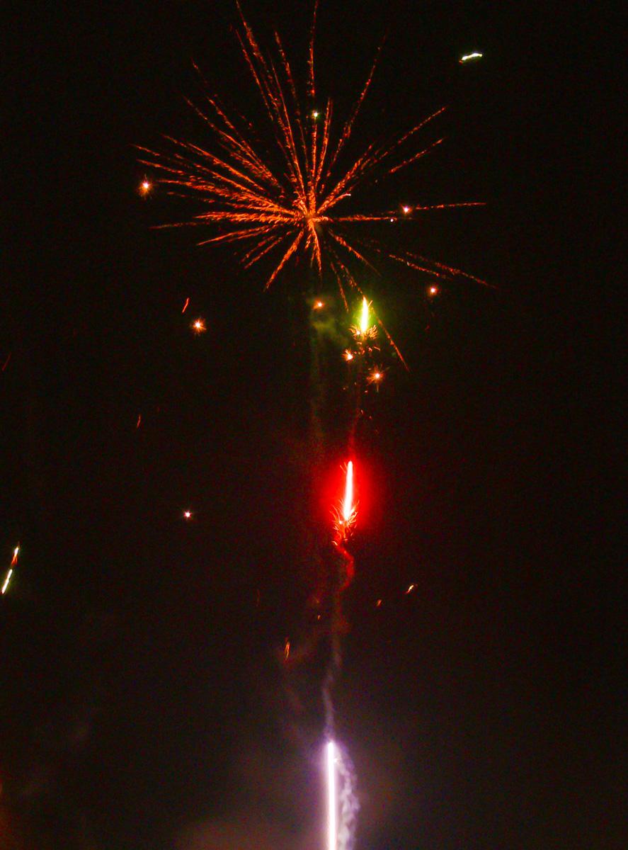 Silvesterfeuerwerk (Bild: Der Weg)