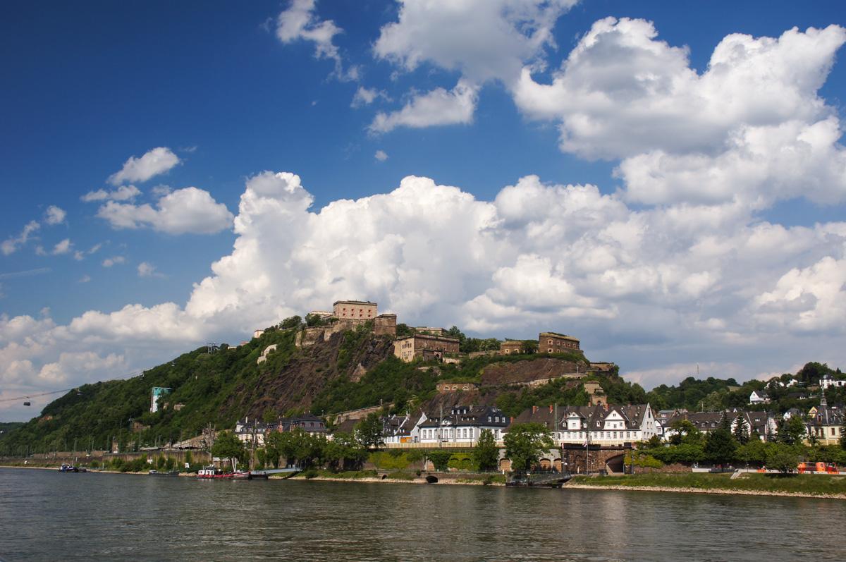 Festung Ehrenbreitstein in Koblenz (Bild: Der Weg)
