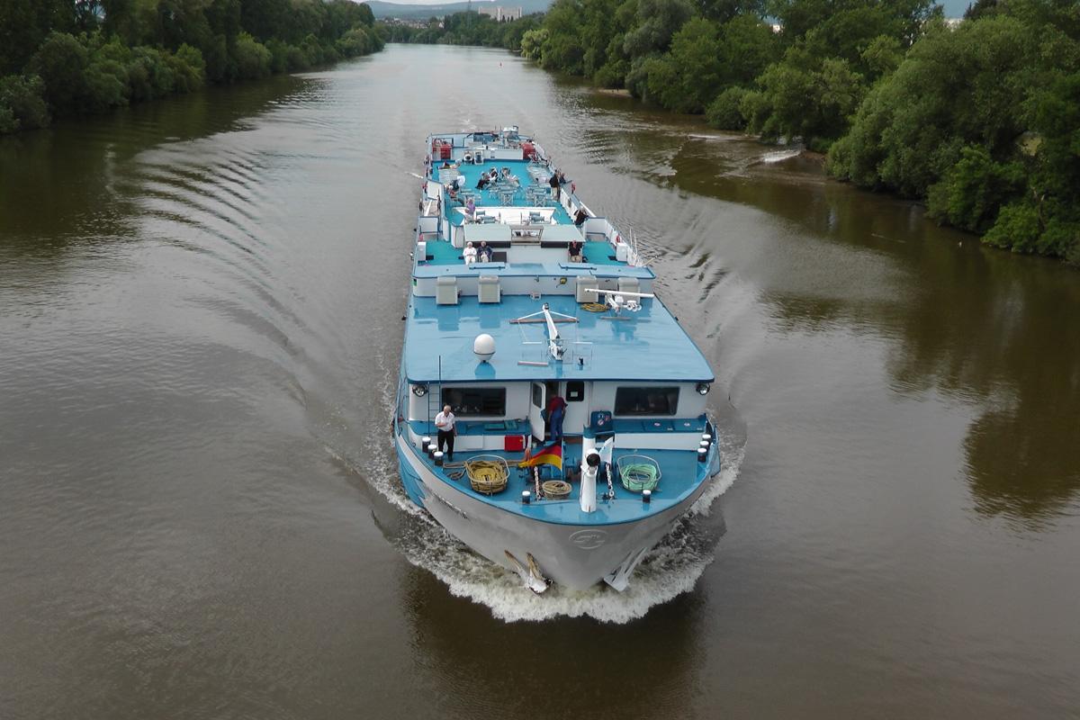 Flussschifffahrt (Bild: Der Weg)