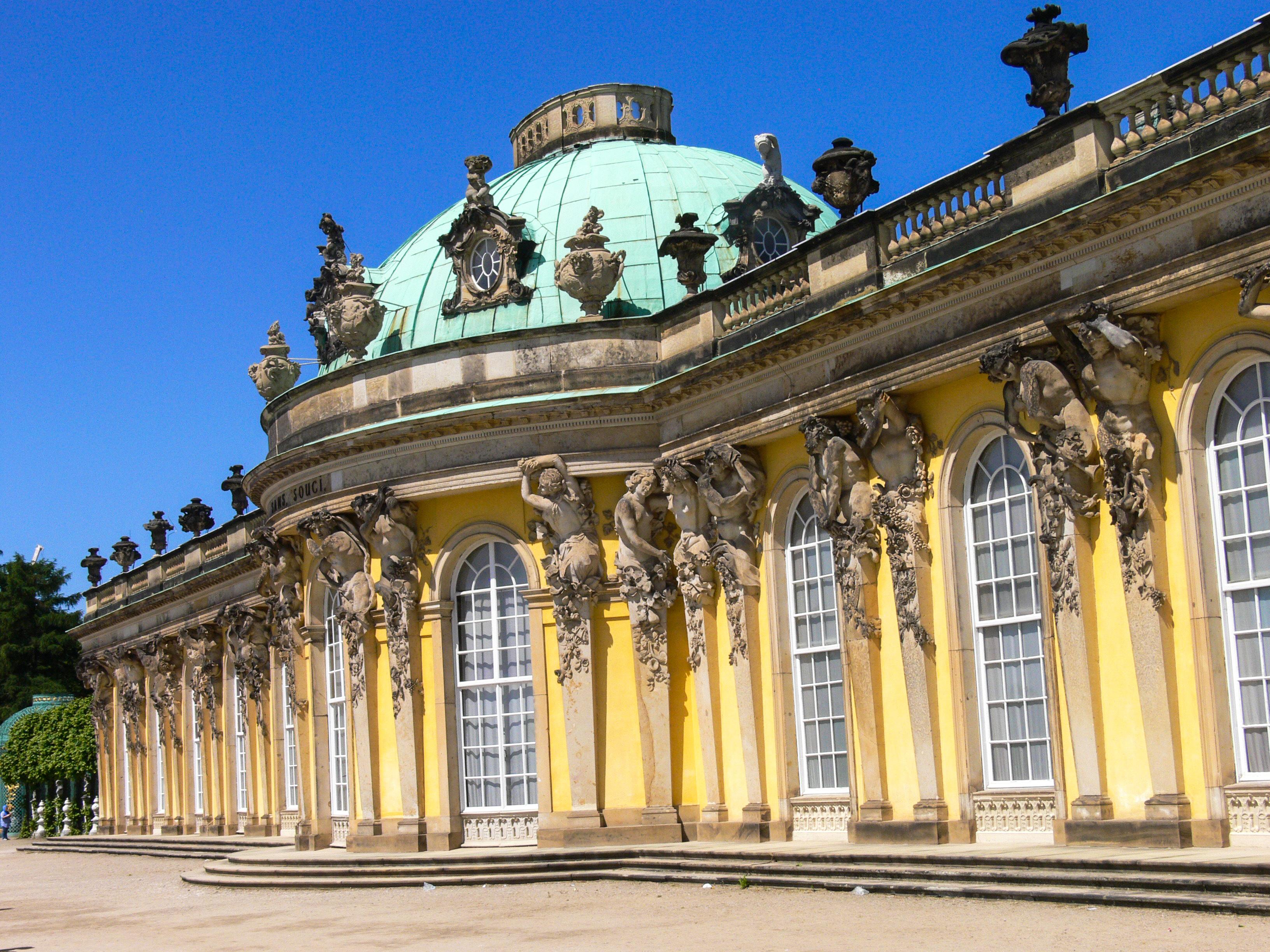 Schloss Sanssouci in Potsdam (Bild: Der Weg)