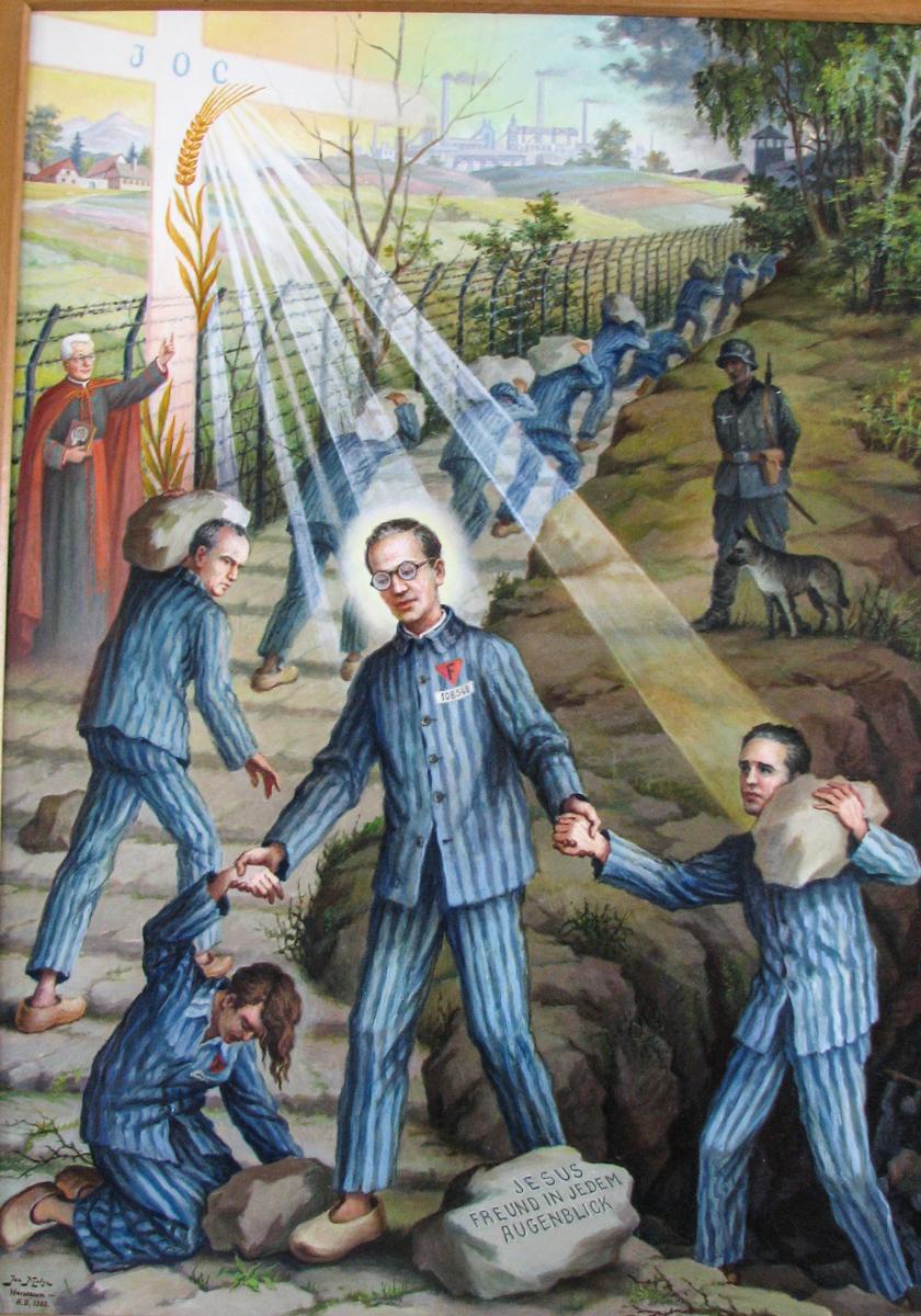 Gemälde von Jan Molga (Bild: Der Weg)