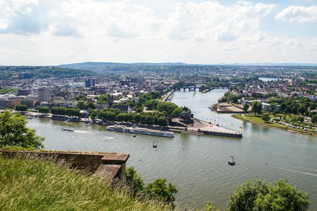 """Koblenz """"Deutsches Eck"""" (Bild: Der Weg)"""