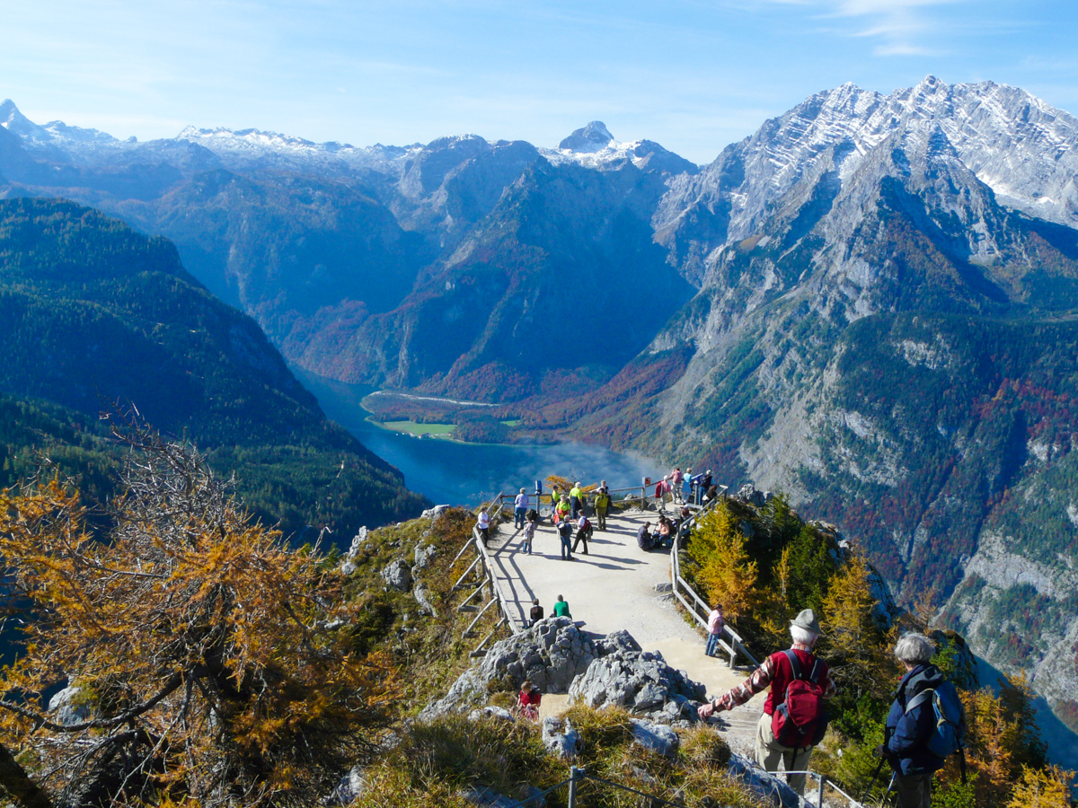 Wanderer in den Alpen (Bild: Der Weg)