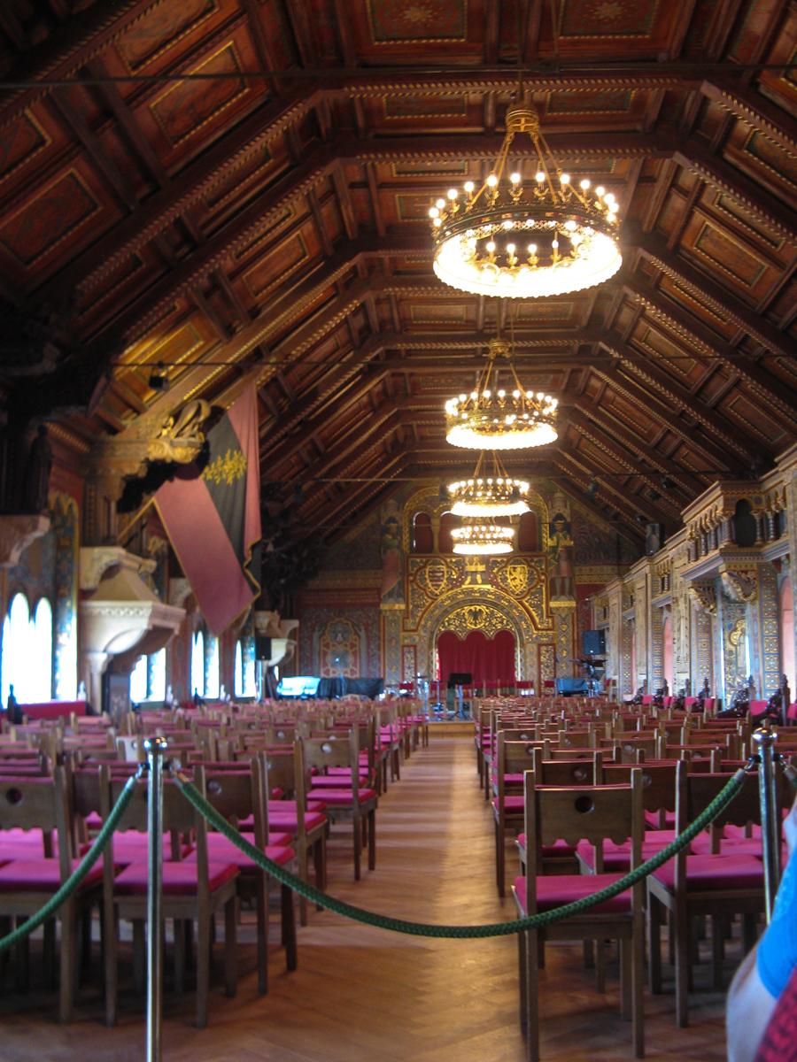 Wartburg Festsaal (Bild: Der Weg)