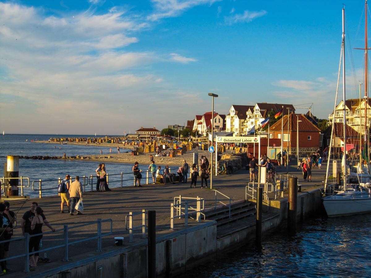 Ostsee - Hafen in Laboe (Bild: Der Weg)