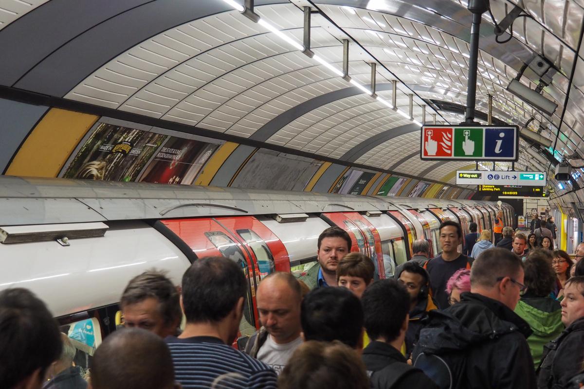 London Underground (Bild: Der Weg)