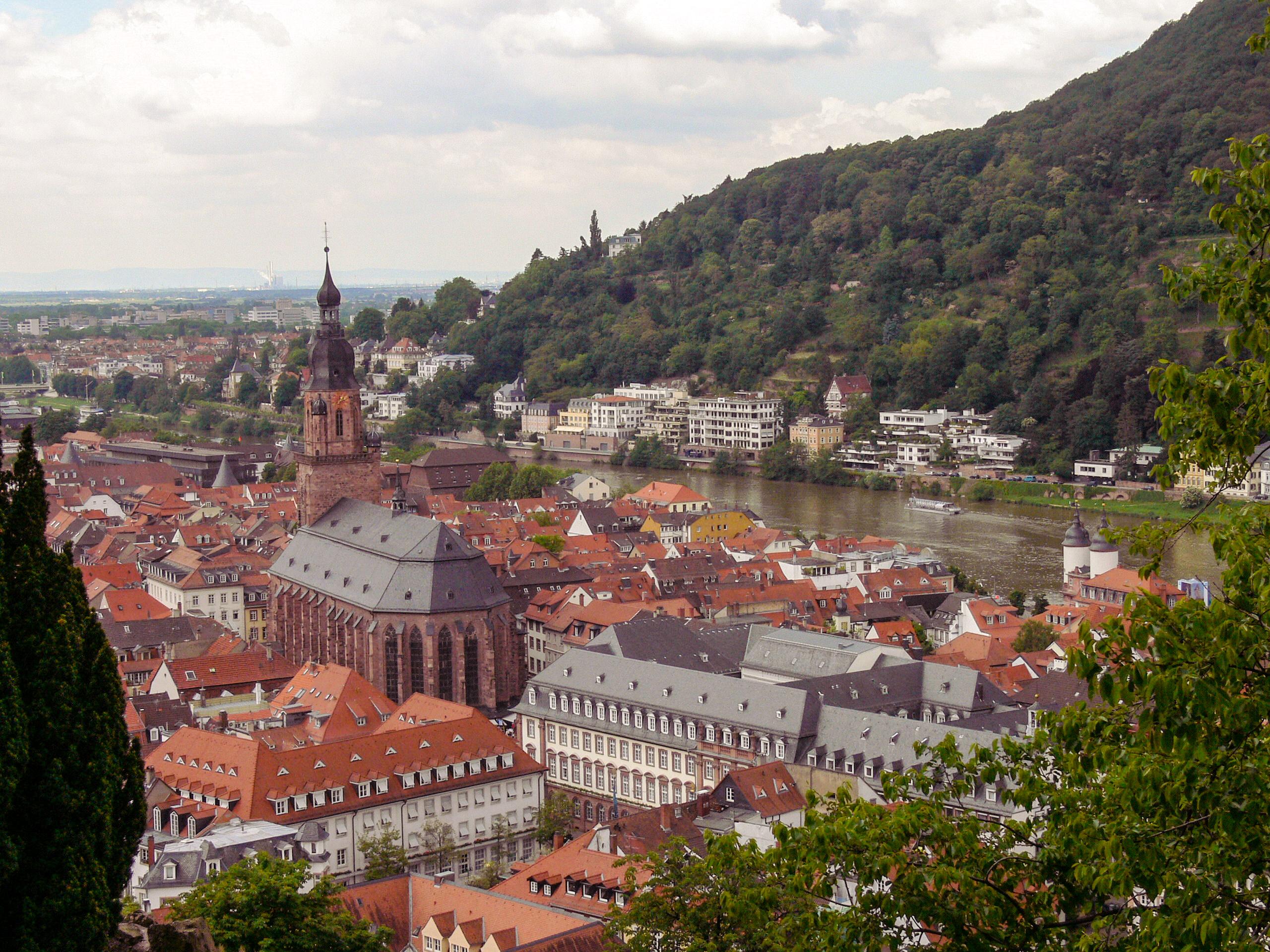 Blick auf Heidelberg (Bild: Der Weg)