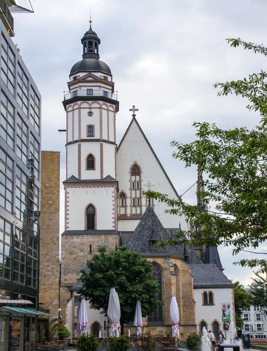 Leipzig Thomaskirche (Bild: Der Weg )