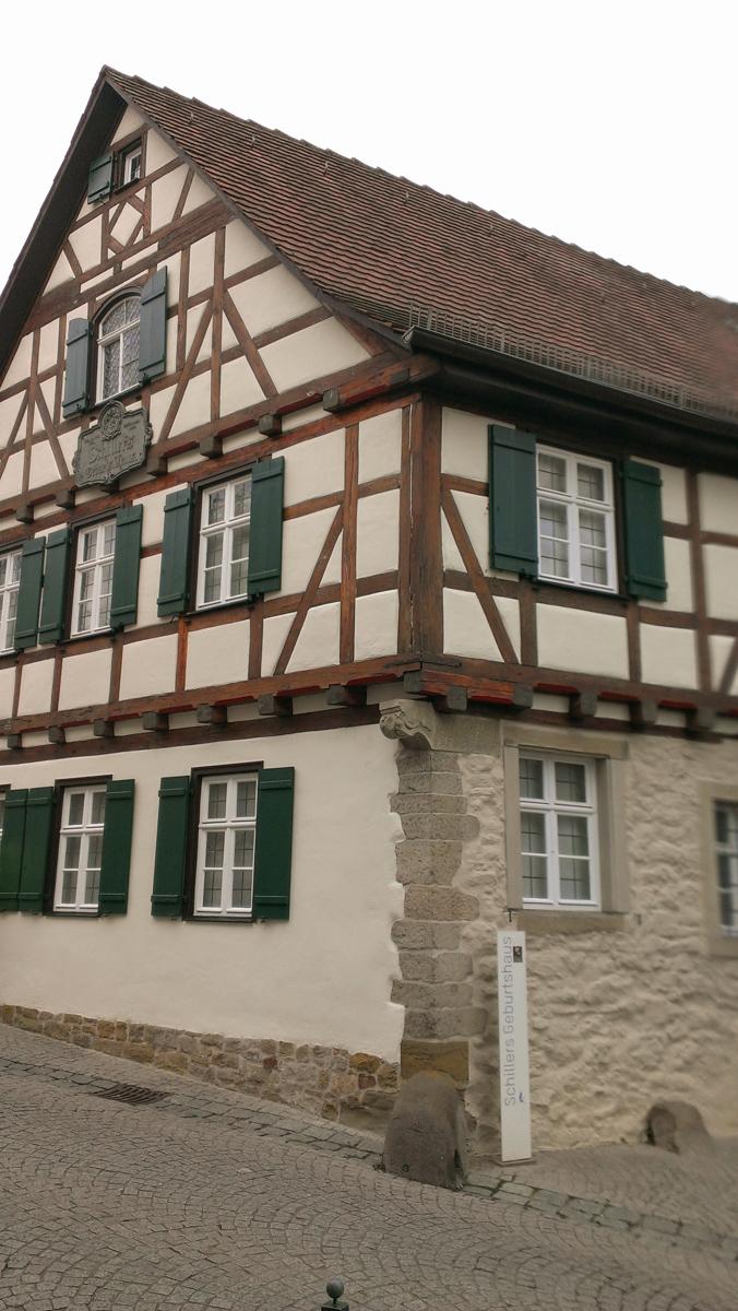 Schillers Geburtshaus (Bild: Der Weg)