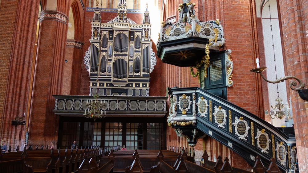 Kirche in Wismar (Bild: Der Weg - M. Arbter)