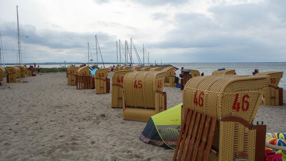Strandkörbe an der Ostsee (Bild: Der Weg - M. Arbter)