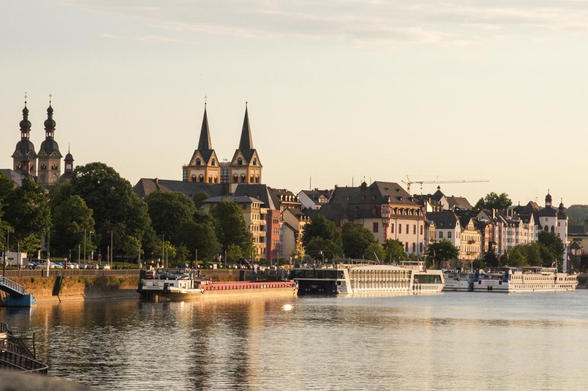 Mosel bei Koblenz (Bild: Der Weg)