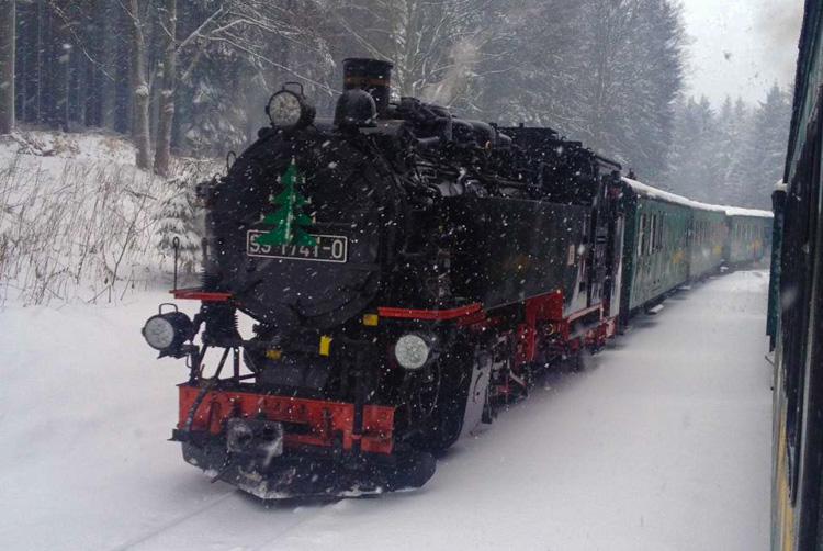 Schmalspurbahn im Erzgebirge (Bild: Der Weg / A. Franz)